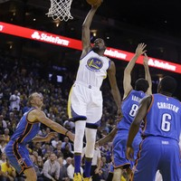 Kevin Durant shows up big for the Warriors as Thunder rolled