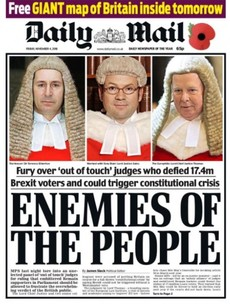 Today's British tabloids are not one bit impressed with yesterday's Brexit decision