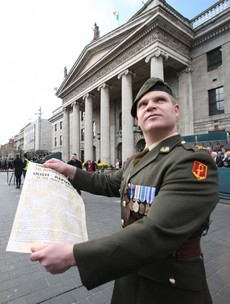We won't be getting a bank holiday to celebrate the Easter Rising
