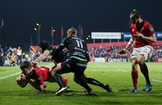 Ruthless Munster thump Ospreys in bonus-point win