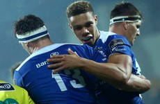Adam Byrne shines as Leinster power past Zebre to return to the top of the Pro12