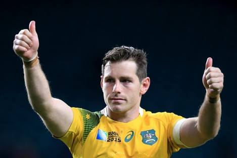 Australia's Bernard Foley produced an influential display this afternoon.