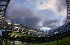 Aviva stadium gears up for Leinster versus Munster