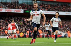 Kane spares Wimmer's blushes as Arsenal and Tottenham share derby spoils