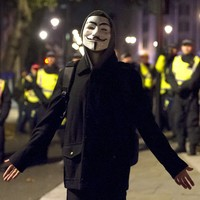 PICTURES: Thousands take to the streets of London for Million Mask March