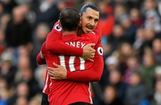 'I thought we were playing in England' - Ibrahimovic rues late booking that rules him out of Arsenal clash