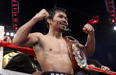 Pacquiao eyeing Mayweather rematch after dominant Vegas display