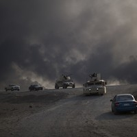 Iraq forces find mass grave in area recaptured from ISIS
