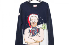 A deadly one-of-a-kind Conor McGregor Christmas jumper is up for auction
