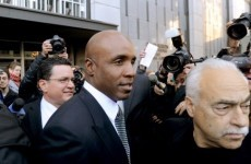 Lucky man: Bonds is spared prison sentence over obstruction of justice