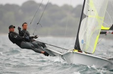 World Sailing Championships: Irish pair stay in the medal hunt
