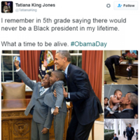 Twitter is fondly remembering all of Obama's best moments with the hashtag #ObamaDay