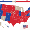 A sea of red: Here's the state-by-state guide of who's taken where