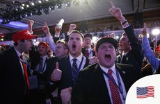 How Donald Trump's supporters reacted to the result
