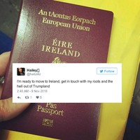 Loads of Americans are talking about moving to Ireland after the election result