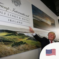 Doonbeg 'buzzing' after businessman Donald Trump voted US President