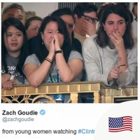 Hillary Clinton just delivered some powerful and emotional words to young women in her concession speech