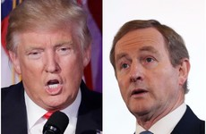 Enda Kenny had a 10-minute phone call with Donald Trump last night