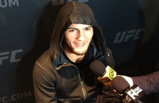 Khabib has been promised the winner of Alvarez-McGregor but he's not sure it will happen