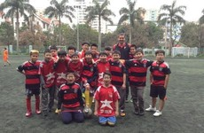 Children in Vietnam are mad about GAA thanks to our inspiring expats