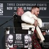 Another UFC press conference descends into chaos as McGregor and Alvarez are kept apart