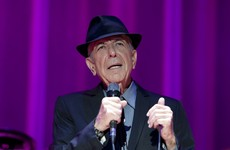 Musician Leonard Cohen has died aged 82