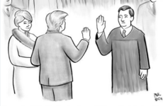 People have started resharing this New Yorker cartoon about Trump's inauguration