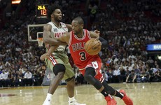 Look who's back! Wade helps Bulls to victory against the Heat in his return to Miami