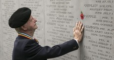 Ireland's World War One war dead are remembered on Armistice Day