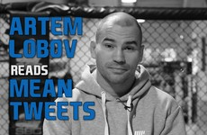 'It's going to be as disappointing as your outfit': Artem Lobov reads your mean tweets