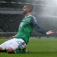 Ignored by his club, Kyle Lafferty's remarkable form for his country continued tonight