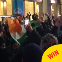 Irish UFC fans are having serious craic in New York ahead of tonight's fight