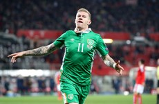 Here's the brilliant James McClean goal that earned Ireland a famous victory