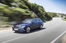 The Mercedes E-Class Estate has a nifty trick for families with small kids