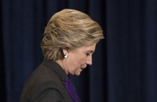 Hillary Clinton blames FBI director for her election loss