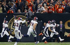You've never seen a play as crazy as the end of Broncos v Saints tonight