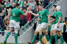 This sensational Irish team try has just won World Try of the Year