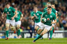 International debut was just one more step on Ringrose's way to the very top