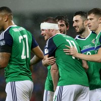 Northern Ireland players donate Euro 2016 match fees to cancer charity