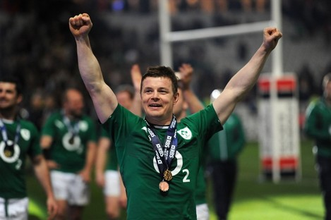 O'Driscoll's glittering career spanned over 15 years.