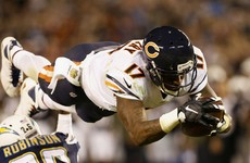 Chicago Bears receiver given 4-game ban for failed doping test