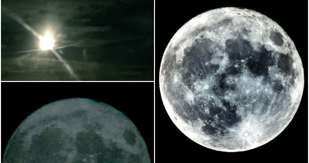 Pictures: Here's how the supermoon looked over Ireland last night