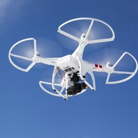Two injured in Toronto plane's near-miss with suspected drone