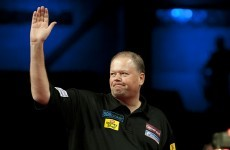 Bye bye Barney: Dutchman crashes out of the World Darts Championship