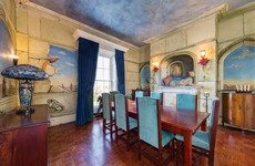 Enjoy Victorian luxury with unique hand-painted murals in Blackrock