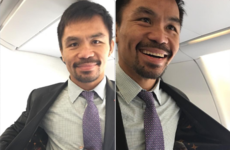 Manny Pacquiao's awful suit is fuelling speculation about a Mayweather rematch