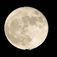 Look up: The supermoon is expected to last until Wednesday night