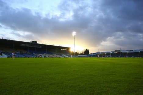 "Semple Stadium: ""Impeccable record of holding big crowds."""