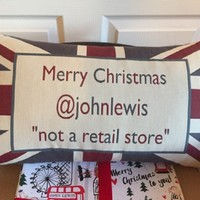 The real John Lewis just got a lovely thank you gift from the shop John Lewis