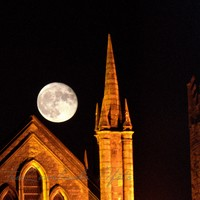 The supermoon is still over Ireland - here's how it looked last night